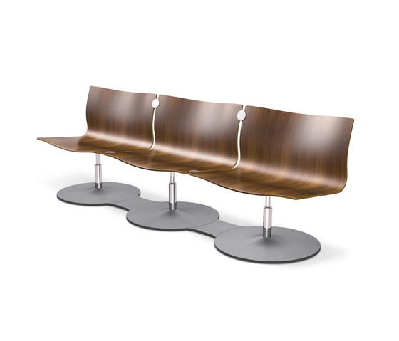 Concept C Con30 by Klöber | Waiting area benches