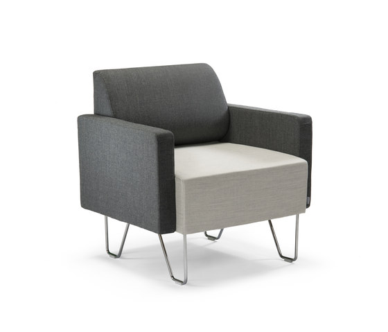 Kits armchair by Helland | Elderly care armchairs