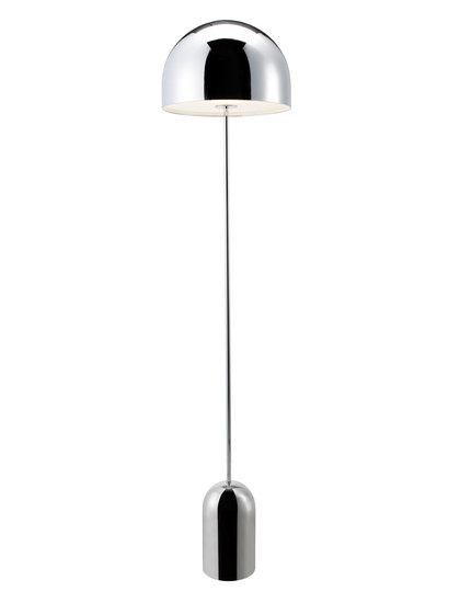 Bell Floor Light Chrome von Tom Dixon | Standleuchten