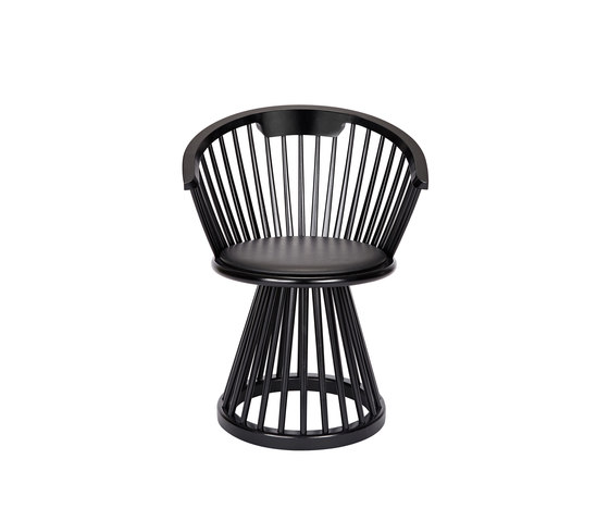 Fan Dining Chair Black de Tom Dixon | Sillas de visita