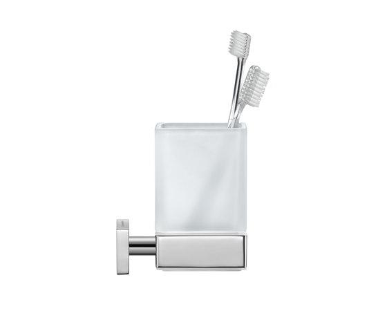Karree - toothbrush tumbler by DURAVIT | Toothbrush holders