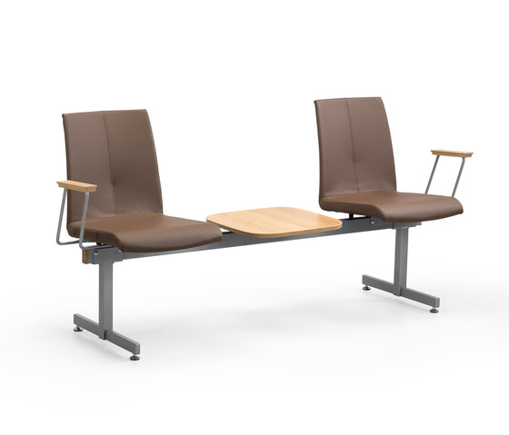 Lake bench by Helland   Elderly care benches