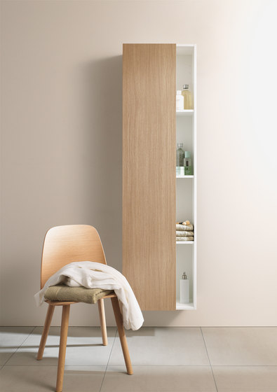 DuraStyle - Tall cabinet by DURAVIT | Wall cabinets