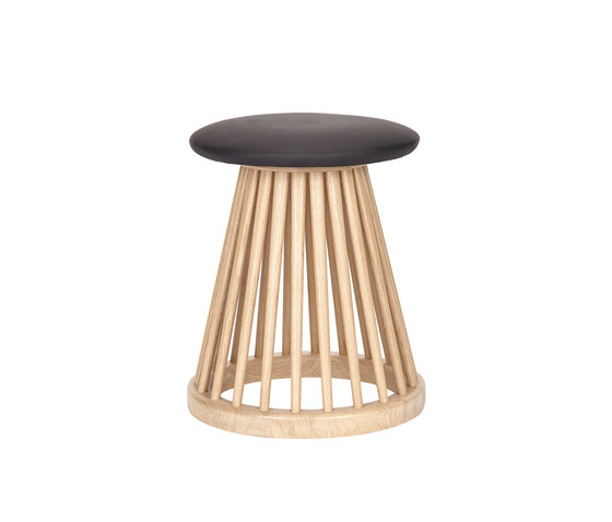 Fan Stool Natural by Tom Dixon | Stools