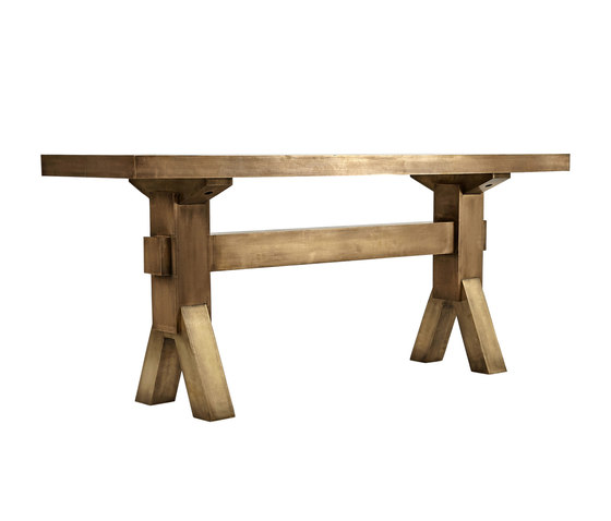 Mass Console Brass by Tom Dixon | Dining tables