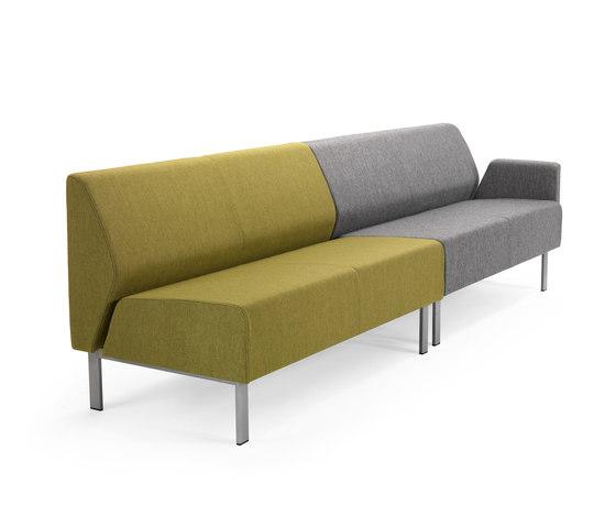 Link sofa by Helland | Elderly care sofas