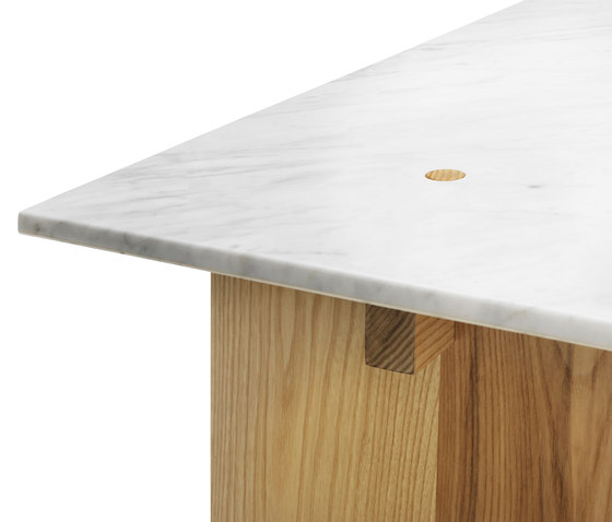 Solid Table von Normann Copenhagen | Esstische