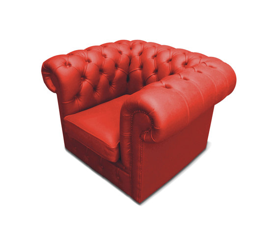 Plastic Fantastic club chair red di JSPR | Poltrone da giardino
