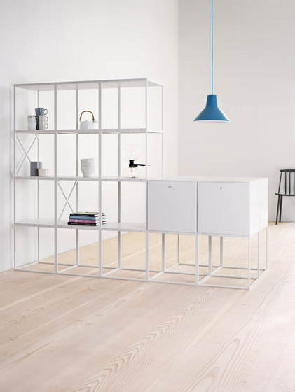 GRID room divider by GRID System APS | Shelving