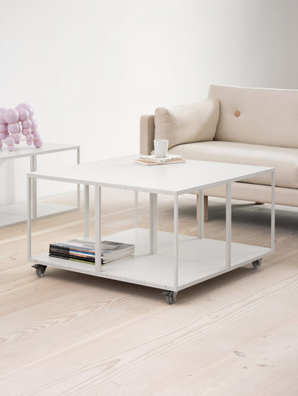 GRID table by GRID System ApS | Lounge tables