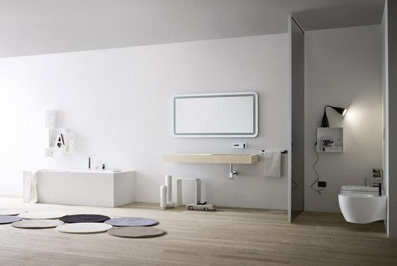 waschpl tze waschtische unico platte mit integriertem. Black Bedroom Furniture Sets. Home Design Ideas