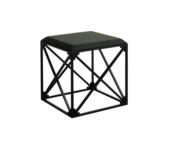 GRID stool by GRID System APS | Poufs