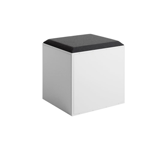GRID stool by GRID System ApS | Ottomans