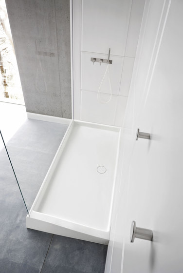 Warp Shower tray with enclosure by Rexa Design | Shower trays