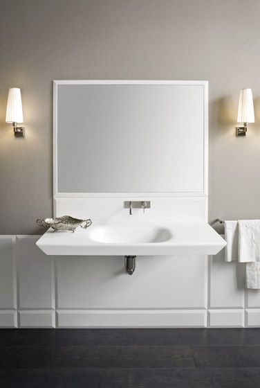 Warp Platte mit integriertem Waschbecken von Rexa Design   Waschtische