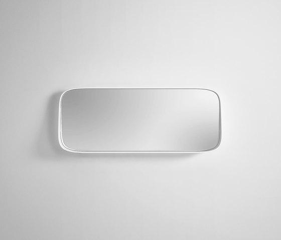 Fonte Mirror with shelf by Rexa Design | Bath mirrors