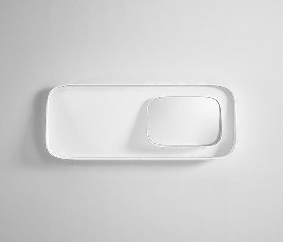 Fonte Mirror by Rexa Design | Bath mirrors