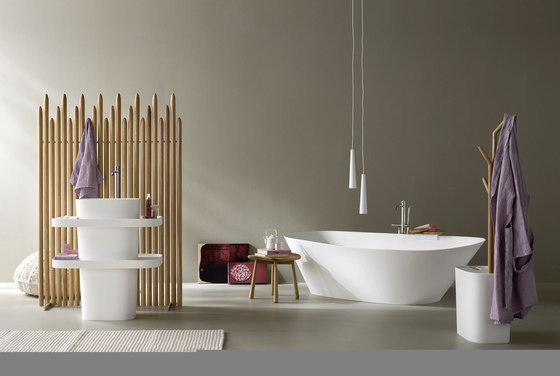 Fonte Bathtub by Rexa Design | Free-standing baths