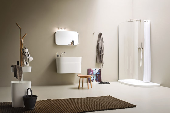 Fonte Washbasin by Rexa Design | Vanity units