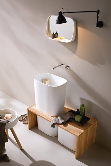 Fonte Overcounter washbasin by Rexa Design | Wash basins