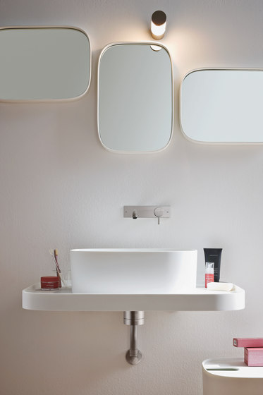 Fonte Top with washbasin by Rexa Design | Vanity units