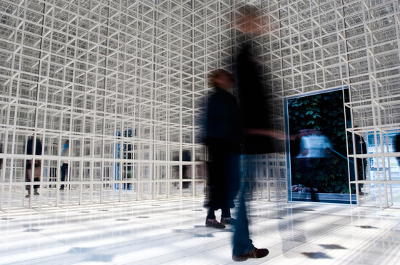 GRID exhibition by GRID System ApS | Space dividers