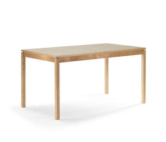 Modus dining table by Helland | Cafeteria tables