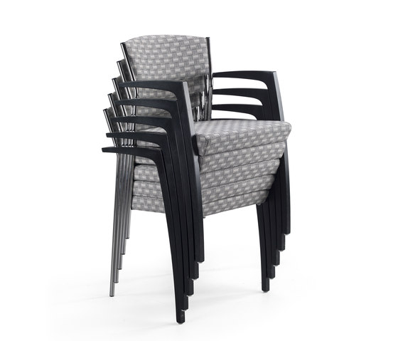 Octav chair stackable by Helland | Elderly care chairs