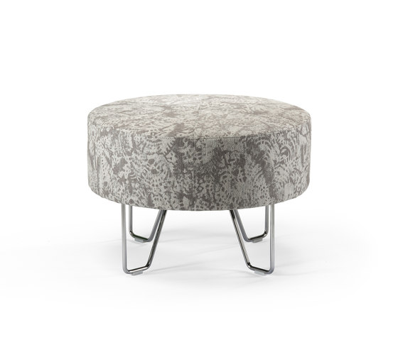 Roll pouf | ottoman by Helland | Poufs