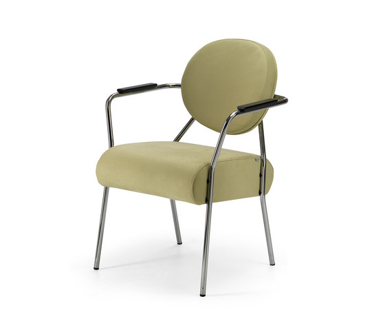 Tellus chair stackable by Helland | Elderly care chairs