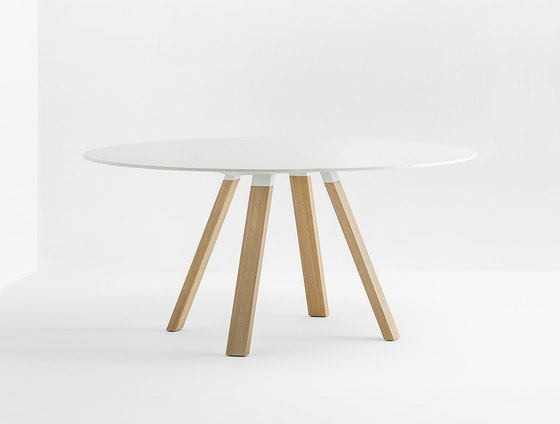Arki-Table WOOD de PEDRALI | Tables de réunion