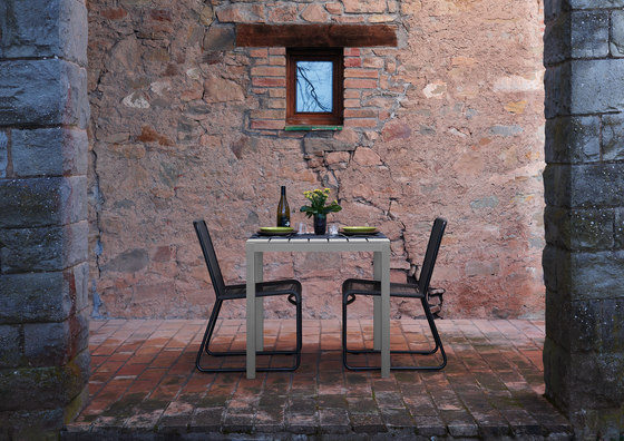 Midi Outdoor Table by Sistema Midi | Cafeteria tables