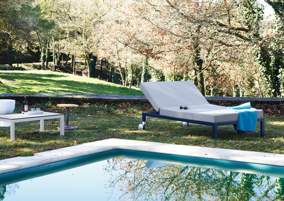 Midi Outdoor Deck chair by Sistema Midi | Sun loungers