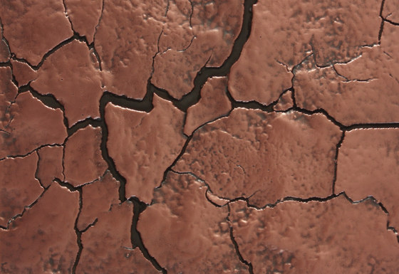 Texture | drying cracks di VEROB | Lamiere metallo
