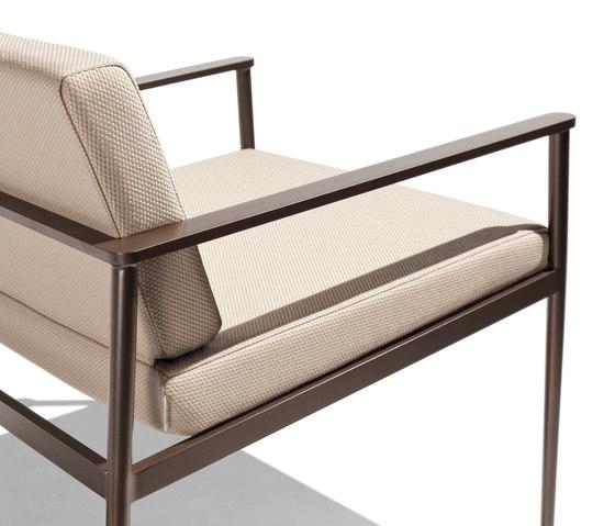 Vint low armchair di Bivaq | Poltrone da giardino