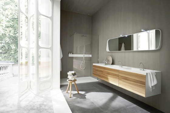 Ergo_nomic Wall hung element by Rexa Design | Vanity units