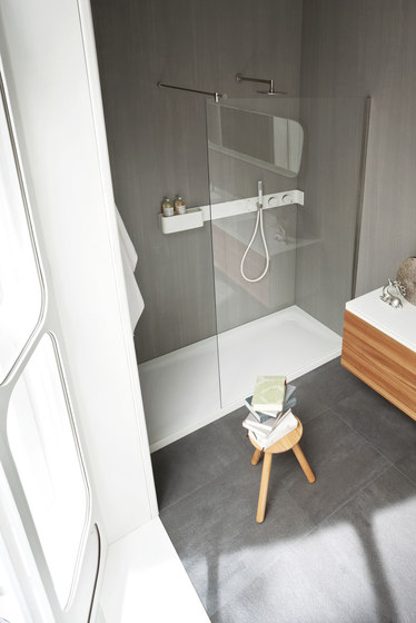 Ergo-nomic Shower tray and enclosure by Rexa Design | Shower screens