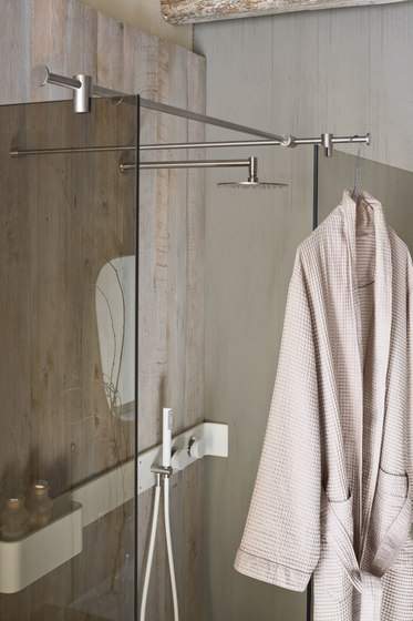 Ergo_nomic Shower tray and enclosure by Rexa Design | Shower screens
