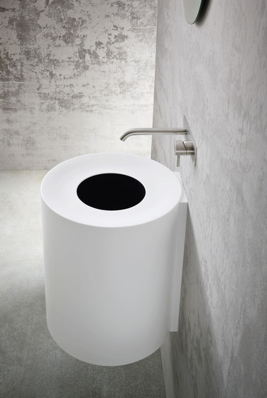 HOLE Suspended Basin by Rexa Design | Wash basins