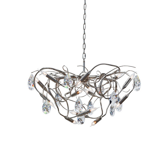 Gaia by Brand van Egmond | Ceiling suspended chandeliers