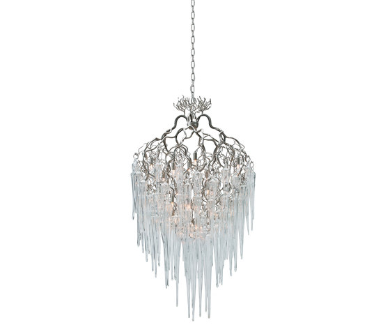 Hollywood icicles chandelier by Brand van Egmond | Ceiling suspended chandeliers