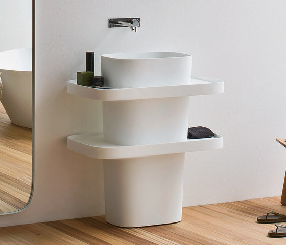 Fonte Washbasin Totem by Rexa Design | Vanity units