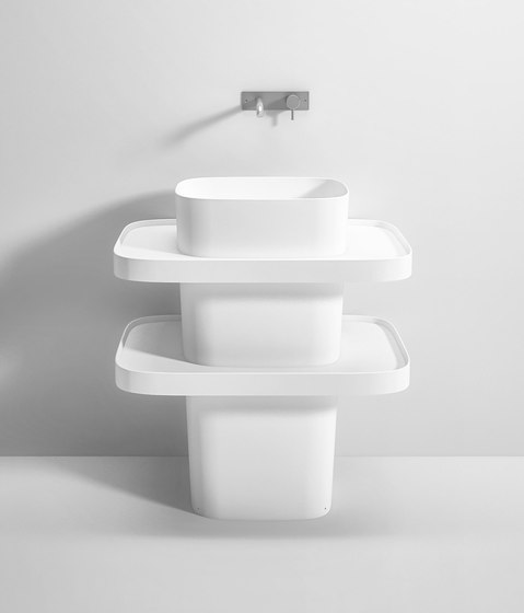FONTE TOTEM STANDING BASIN by Rexa Design | Wash basins