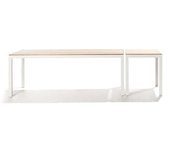 Natal Alu Teak Table by Tribù | Dining tables