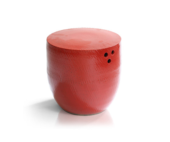 Porcelain Cup SideTable/Stool by Tucker Robbins | Side tables