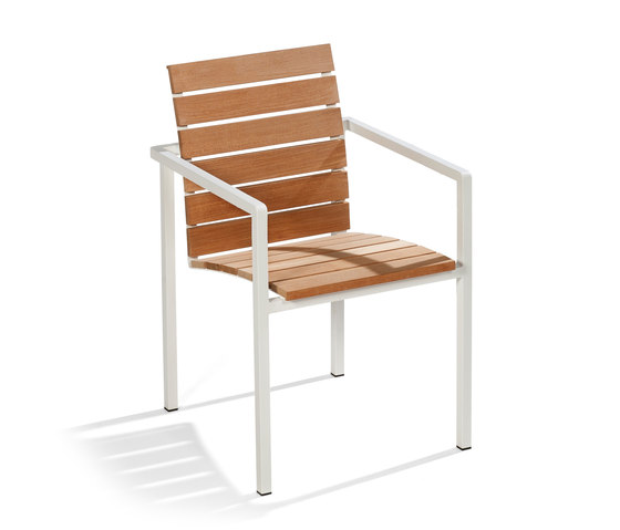 Natal Alu Teak Armchair by Tribù | Garden chairs