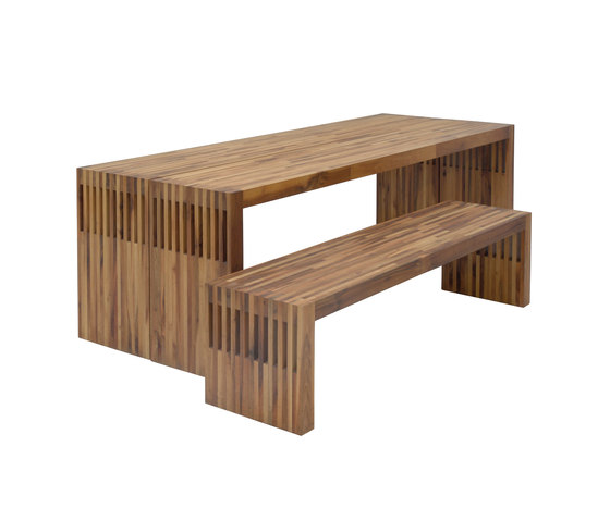 Bas table/bench by Pilat & Pilat | Dining tables
