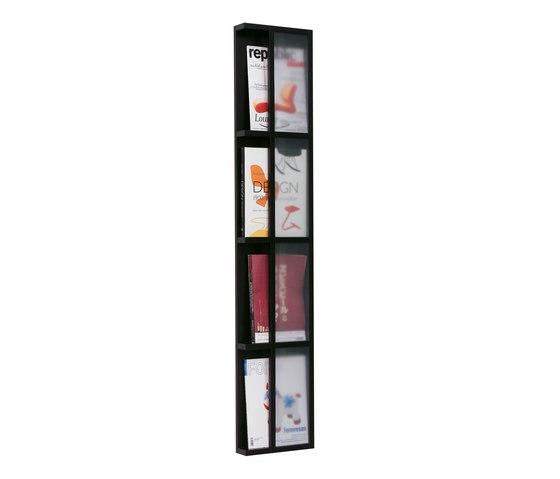 Tidskriftshylla 4 magazine storage de Scherlin | Porte-revues