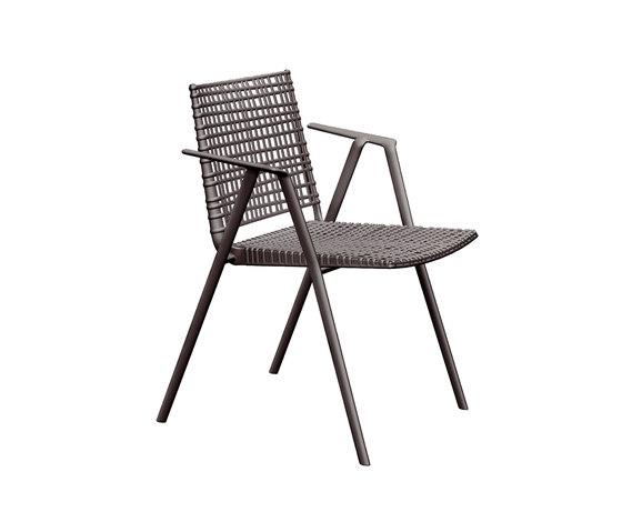 Branch Armchair by Tribù | Garden chairs