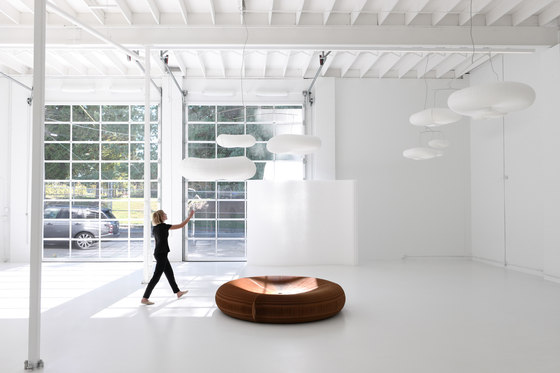 cloud softlight mobile by molo | Suspended lights